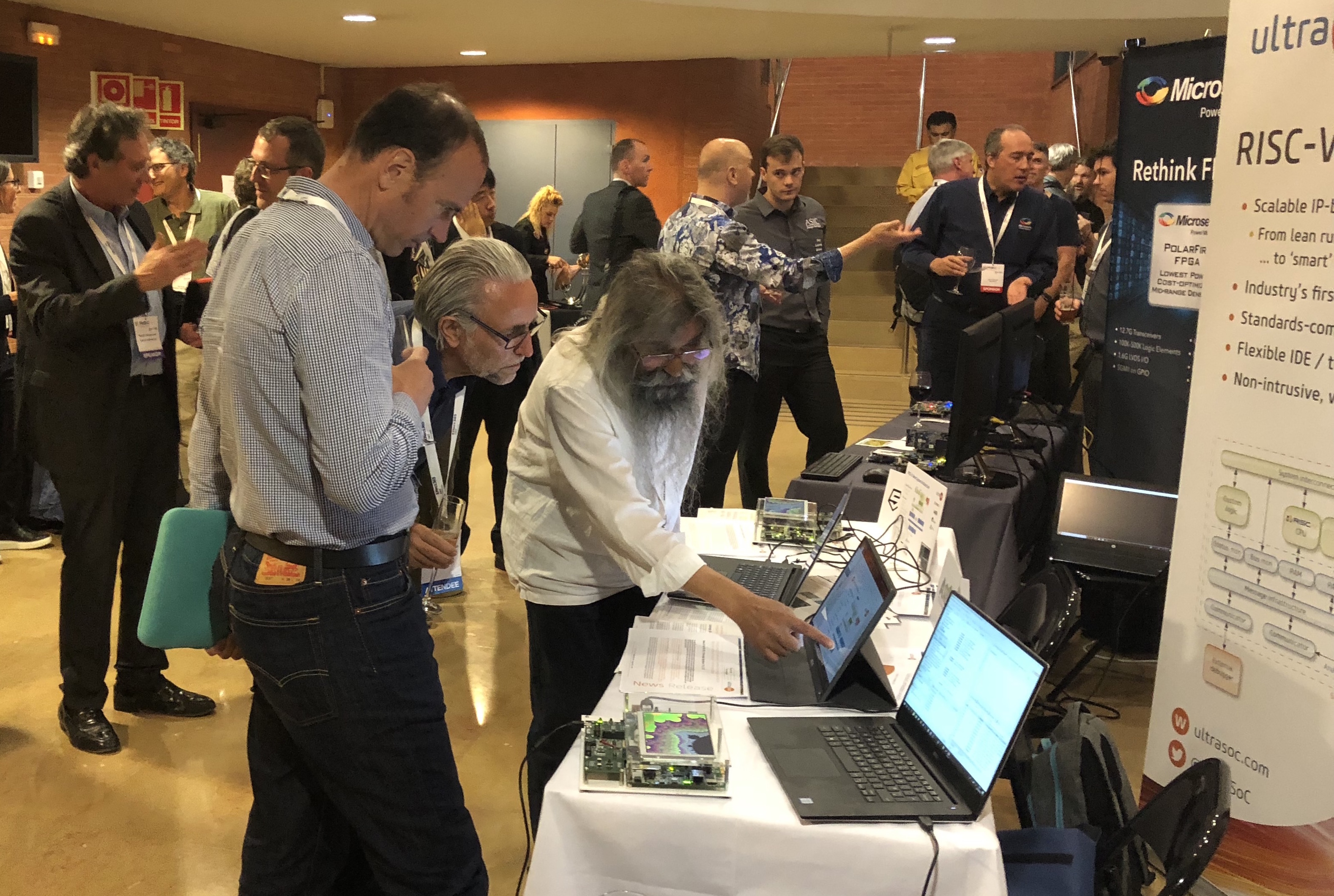 RISC-V Workshop: security, scalability, and Super Mario