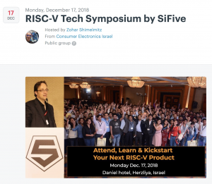 RISC-V Tech Symposium Meetup by SiFive • UltraSoC