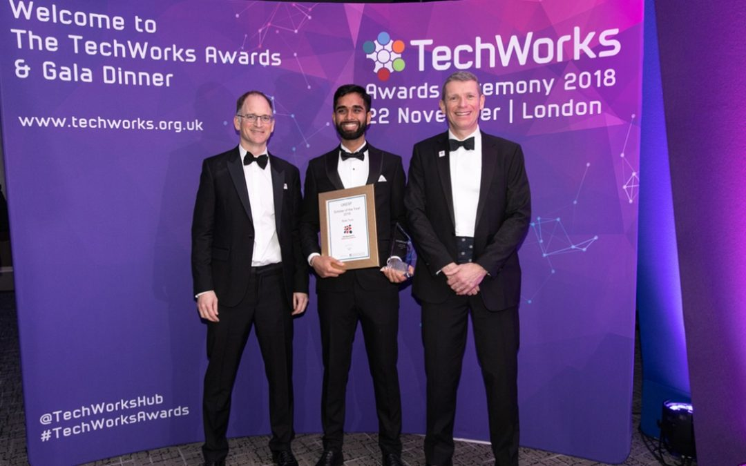 UltraSoC internship leads to UKESF Scholar of the Year Award