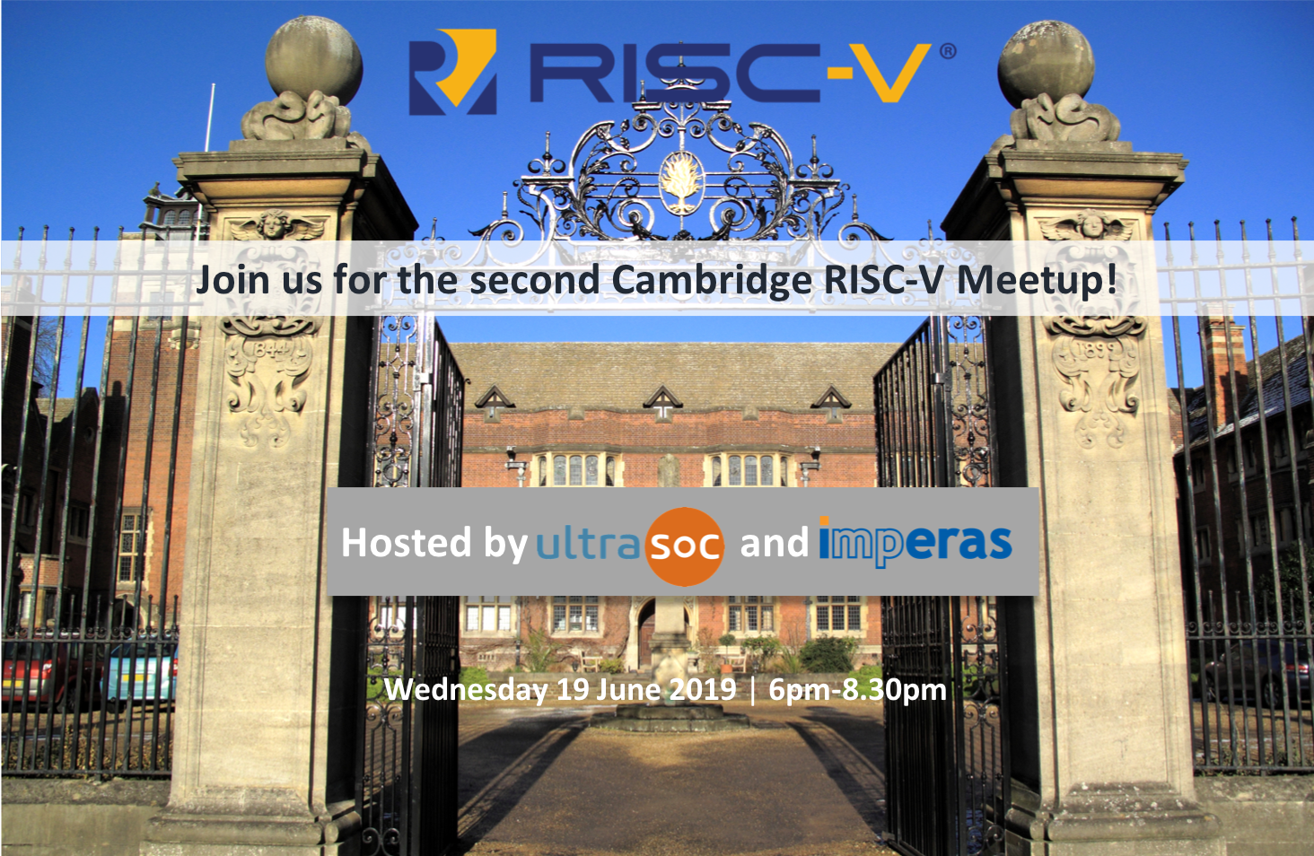 Cambridge RISC-V Meetup • UltraSoC